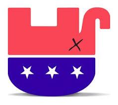 Upside down elephant